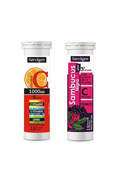 Sorvagen C Vitamini 1000 Mg Plus + Sambucus Nigra Plus (2 X 15 Efervesan Tablet)