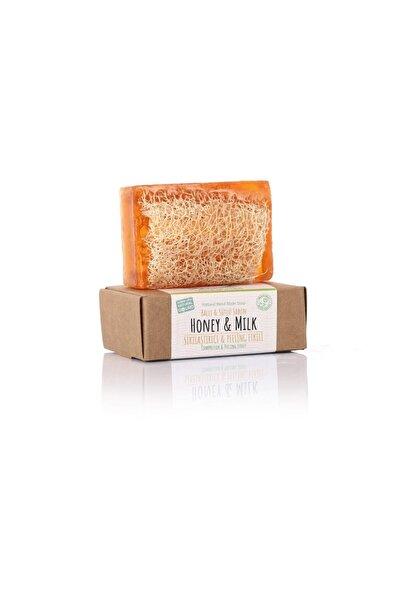 dionesse %100 El Yapımı Doğal Kabak Lifli Ballı-sütlü Sabun 130 gr