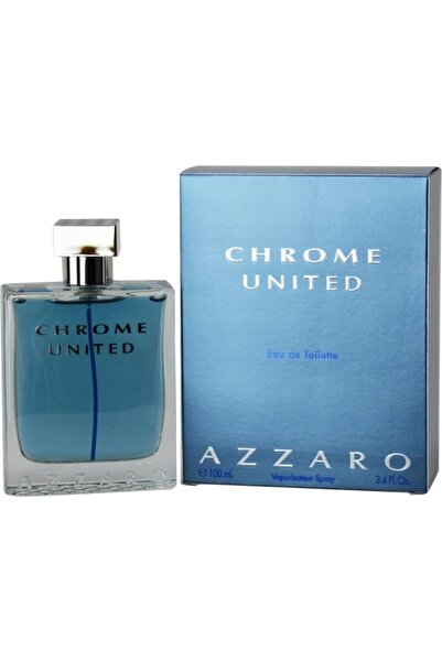 Azzaro Chrome United Edt 100 ml Erkek Parfüm 3351500957712