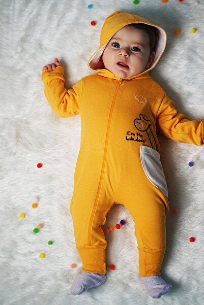 Bebe Zürafalı K Tulum Sarı