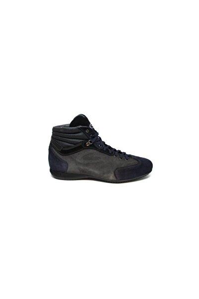 ALBERTO GUARDIANI Erkek Lacivert Gri Günlük Ayakkabı
