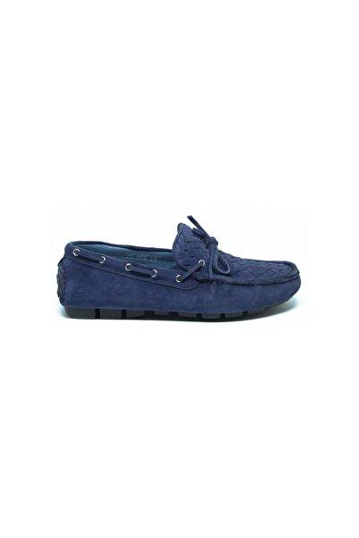 ALBERTO GUARDIANI Erkek Mavi Ayakkabı