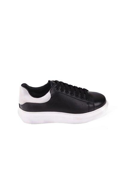 Hobby Siyah Deri Casual Erkek Ayakkabı As01