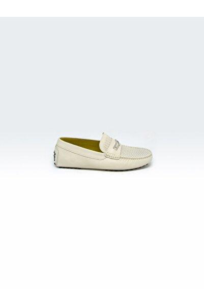 ALBERTO GUARDIANI Erkek Krem Klasik Ayakkabı