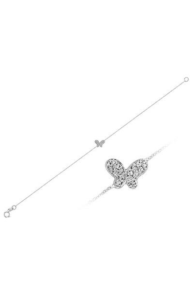 Sirius Pırlanta Pırlanta Taşlı Kelebek Bileklik