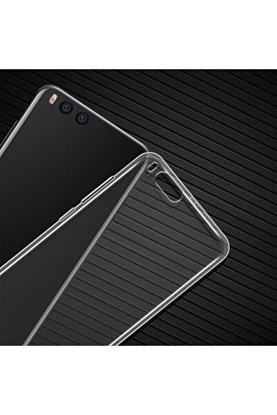 BCA Xiaomi Mi Note 3 Uyumlu Şeffaf Süper  Darbe Emici Özellikli Silikon Kapak
