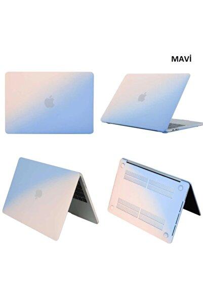 Techmaster Macbook Air 13 13.3 A1466 A1369 Rainbow Kılıf Ultra Ince