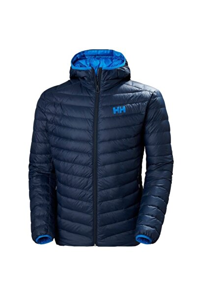 Helly Hansen Erkek Lacivert Verglas Hooded Down Insulator Outdoor Mont