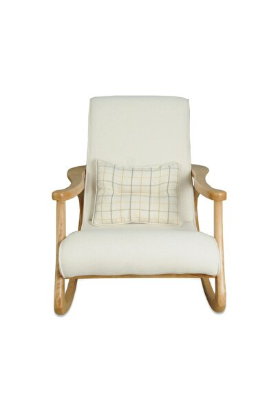 Asedia Ekol Naturel-krem Sallanan Sandalye