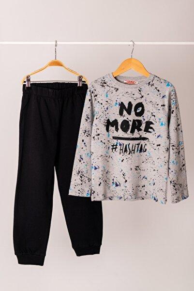 Zeyland Hashtag Baskılı Pijama Takımı (5-14yaş)
