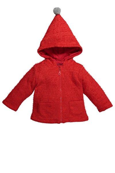 Zeyland Kız Bebek Kırmızı Kapüşonlu Ceket