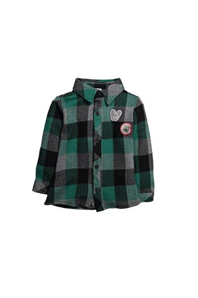 Zeyland Erkek Çocuk Yeşil Gömlek 82m1ogm81