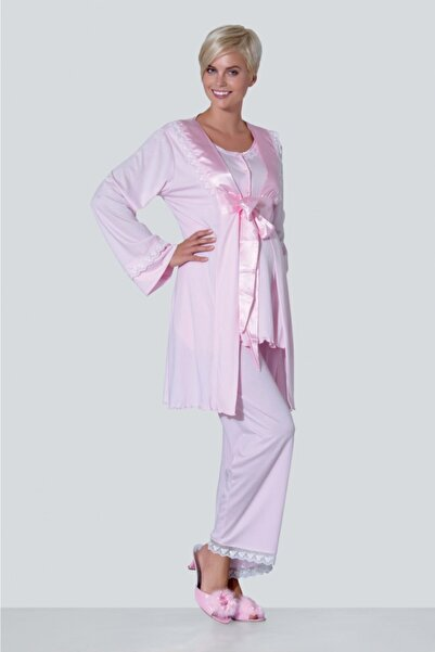 Ebru Maternity 1413 - Lohusa / Hamile Pijama Takım