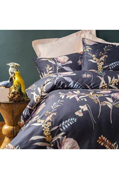 İssimo Home Protea Çift Kişilik Saten Nevresim Takımı