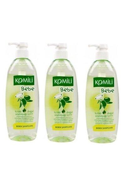 Komili Bebe Zeytinyağlı Bebek Şampuanı 750 Ml X3 Adet
