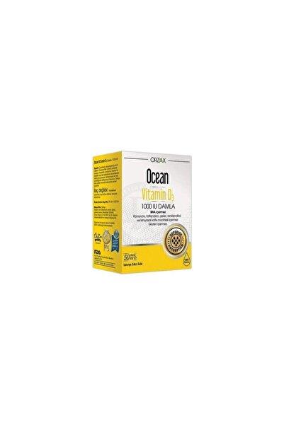 Orzax Ocean Vitamin D 3 1000 Iu Damla 50 ml