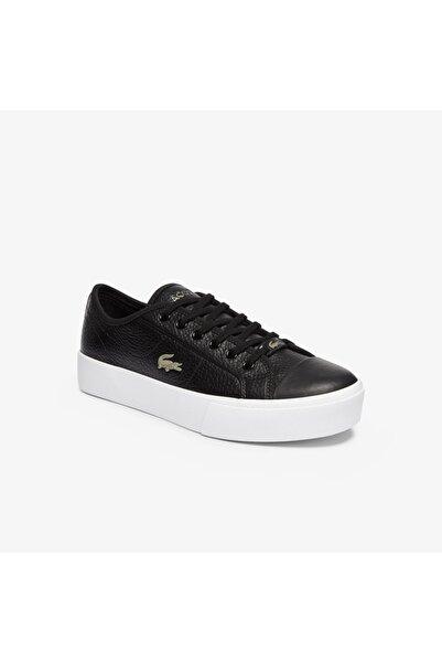 Lacoste Ziane Plus Grand 07211Cfa Kadın Siyah - Beyaz Ayakkabı 741CFA0054