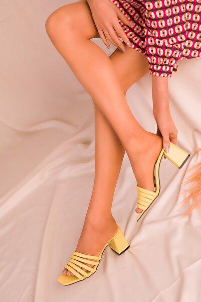 SOHO Sarı Kadın Terlik 15815