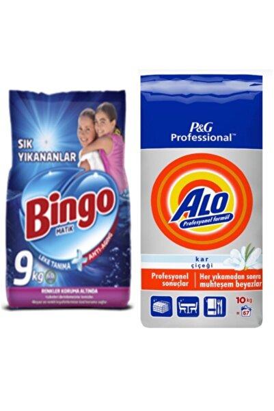 Bingo 9kg Bingo + 10kg Alo Toz Deterjanı