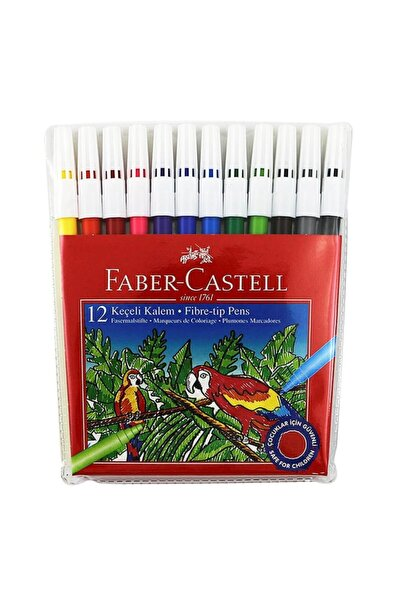 Faber Castell 12'li Keçeli Kalem