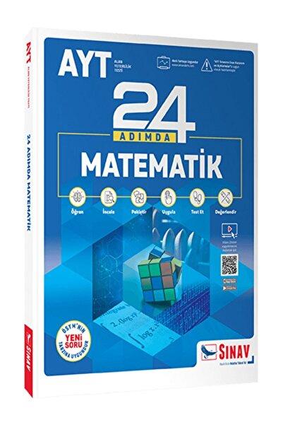 Sınav Yayınları Sınav Yks Ayt Matematik 24 Adımda Konu Anlatımlı Soru Bankası