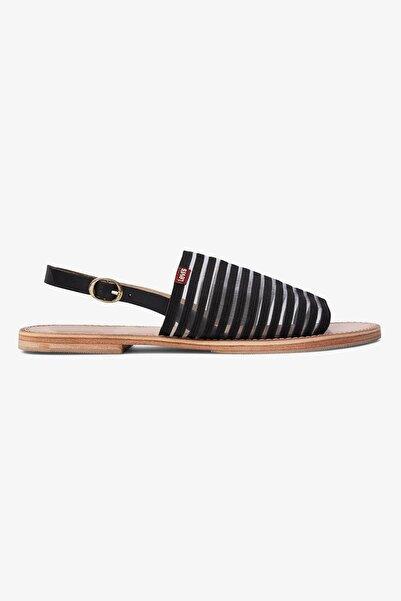 Levi's Kadın Siyah Shastina Regular Sandalet