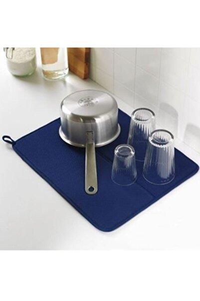 Deneme Zamanı Ikea Nysköljd Bulaşık Kurutma Örtüsü, Koyu Mavi
