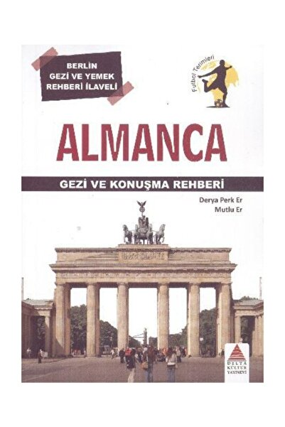 Delta Kültür Yayınevi Almanca Gezi Ve Konuşma Rehberi