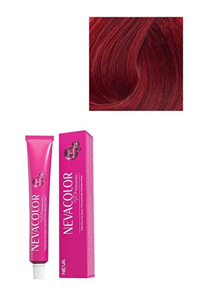 Neva Color Premium Kalıcı Saç Boyası Aşk Alevi 7.66