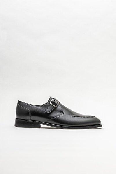 Elle Erkek Siyah Deri Loafer Ayakkabı