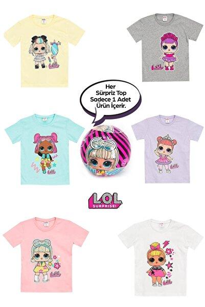LOL Lisanslı Kız Çocuk Sürpriz Top T-Shirt