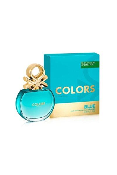 Benetton Colors Blue Edt 80 ml Kadın Parfümü  8433982006272