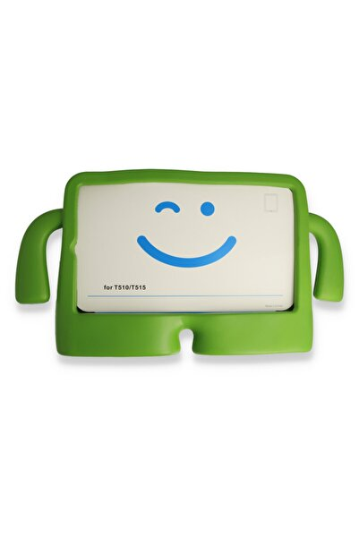 PHONACS Apple Ipad Mini 1-2-3-4-5 7.9 '' Inç Standlı Silikon Tablet Kılıfı Yeşil