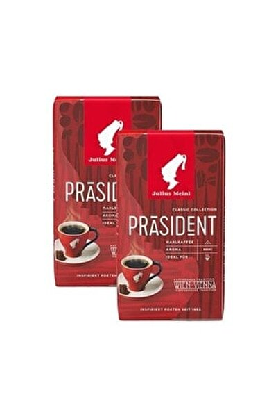 President Ground Filtre Kahve 250 Gr X 2 Adet
