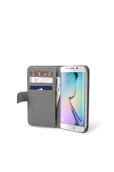 Cellular Line Samsung Galaxy S6 Edge Book Agenda Kapaklı Kılıf Siyah - BOOKAGENDAGALS6EK