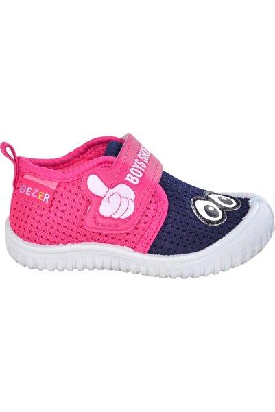 GEZER Kız Çocuk Lacivert Pembe Spor Ayakkabı