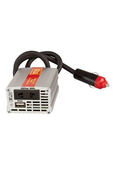 Elo Oto Çakmaklık Invertor Voltaj Çevirici Usb Ve Priz 12v-220v 150w