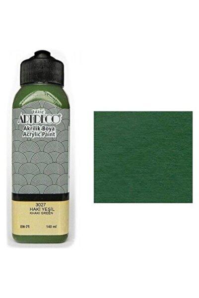Artdeco Akrilik Boya 140 ml. Haki Yeşil 70r-3027