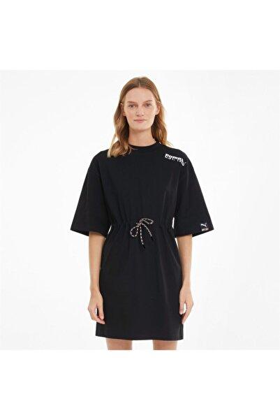 Puma Pı Tee Dress Black