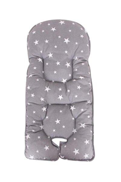Sevi Bebe Mama Sandalyesi Minderi - Gri Yıldız
