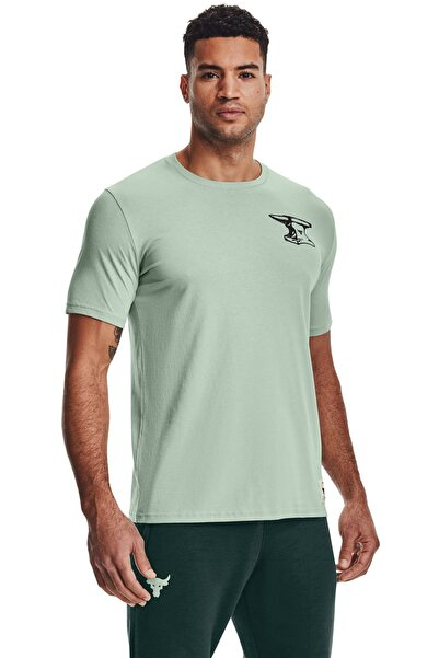 Under Armour Erkek Spor T-Shirt - UA Pjt Rock Wrecking Crew SS - 1361725-340