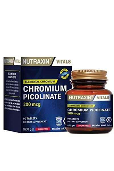 Nutraxin Chromium Picolinate 200mcg 90 Tablet