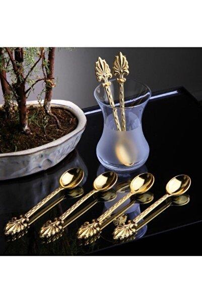 Olcay Home 6 Kişilik Gold Çay Kaşığı