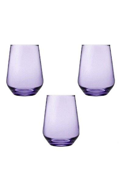 Paşabahçe Mor Allegra Meşrubat Bardağı 425 cc 3'lü 41536