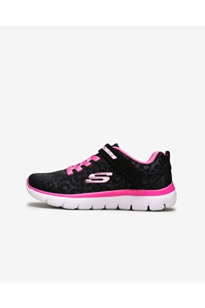 SKECHERS SUMMITS-WORTH WILD Büyük Kız Çocuk Siyah Spor Ayakkabı