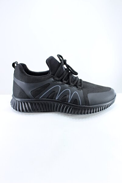 AEROPOSTALE Erkek Siyah Bağcıklı Sneaker