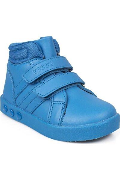 Vicco Kız Çocuk Saks Mavi Bot 211 313.p19k104