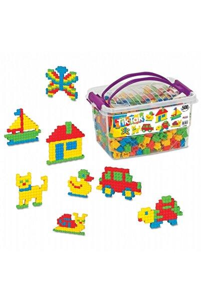 webbey Tik Tak 500 Parça Lego Seti Tiktak Box