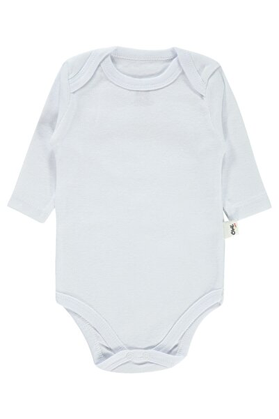 Civil Baby Bebek Beyaz Çıtçıtlı Badi