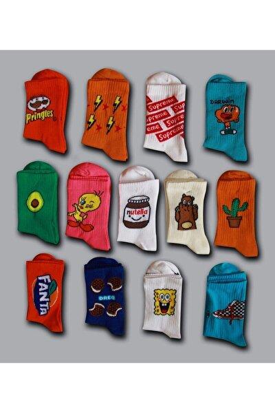 Çoraphane Kolej Çorap 10 Çift